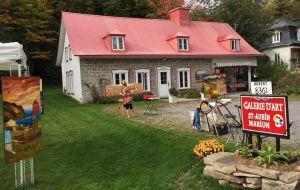 Reportage diffusé à Québec sur l'ouverture de la GALERIE D'ART ST-AUBIN MARION à Château-Richer!